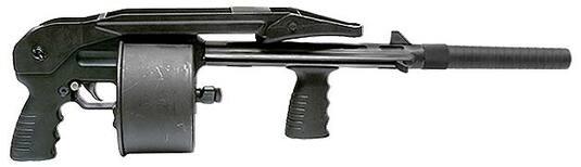 Ружье-револьвер-дробовик «Protecta»