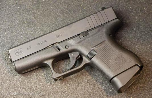 Грозная малютка Glock 43